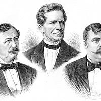 EBERSBERG, JOSEPH TICHATSCHEK,  FRIEDRICH OSKAR VON SCHWARZE, Ottokar Franz