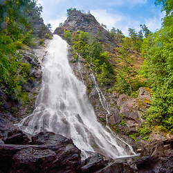 Rockly Brook Falls, Olympic National Forest, Washington, US