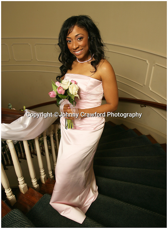 African American Bridesmaid