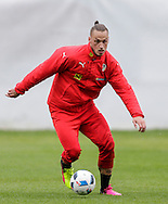 Marco Arnautovic during Austria training camp ahead of Euro 2016 at Raiffeisen Arena Crap Gries, Schluein<br /> Picture by EXPA Pictures/Focus Images Ltd 07814482222<br /> 23/05/2016<br /> ***UK &amp; IRELAND ONLY***<br /> EXPA-RIN-160523-0192