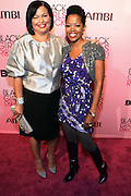 16 October 2010-New York, NY- l to r: Debra L. Lee, President and CEO of BET and Melinda Williams at The Black Girls Rock! Shot Caller's Reception Presented by Beverly Bond and BET held at Fred's at Barneys New York on October 15, 2010 in New York City. ..BLACK GIRLS ROCK! Inc. is 501(c)3 non-profit youth empowerment and mentoring organization established to promote the arts for young women of color, as well as to encourage dialogue and analysis of the ways women of color are portrayed in the media. Photo Credit:.Terrence Jennings..