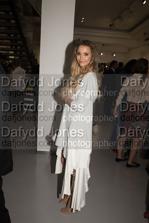 SOPHIE HERMANN, Unblock, magazine specialising in art, fashion and culture hosts launch party.  <br /> Contini Art UK, 105-106 New Bond Street, London, 14 June 2016