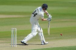 Craig Miles of Gloucestershire bats - Photo mandatory by-line: Dougie Allward/JMP - Mobile: 07966 386802 - 08/06/2015 - SPORT - Football - Bristol - County Ground - Gloucestershire Cricket v Lancashire Cricket Day 2 - LV= County Championship