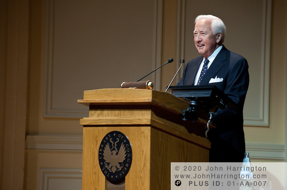 Author David McCullough gives a presentation on his latest book, The Greater Journey: Americans in Paris at the Library of Congress in Washington, DC on June 1st, 2011.