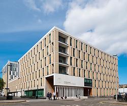 Modern Informatics Forum building at University of Edinburgh in Scotland, United Kingdom
