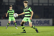 Forest Green Rovers Jordan Stevens(8) on the ball during the The FA Youth Cup match between Bristol Rovers and Forest Green Rovers at the Memorial Stadium, Bristol, England on 2 November 2017. Photo by Shane Healey.