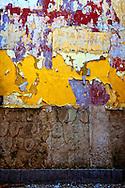 Wall in Cojimar, Playas del Este, Havana, Cuba.
