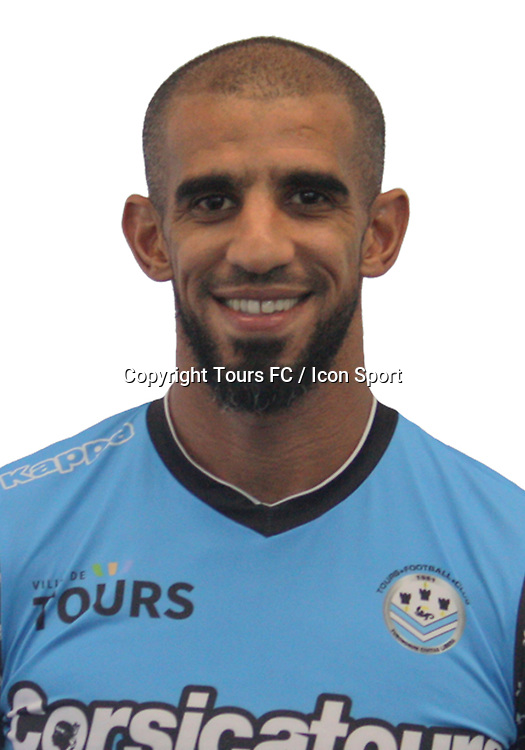 Hameur Bouazza during the during photoshooting of Tours FC for new season 2017/2018 on October 5, 2017 in Tours, France<br /> Photo : Tours FC / Icon Sport
