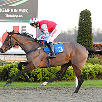 Pure Style and N Fehily winning the 2.35 race