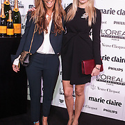 NLD/Amsterdam/20150119 - De Marie Claire Prix de la Mode awards, Danie Bles en Renate Verbaan