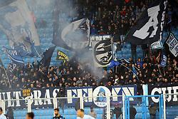 """Foto LaPresse/Filippo Rubin<br /> 12/05/2019 Ferrara (Italia)<br /> Sport Calcio<br /> Spal - Napoli - Campionato di calcio Serie A 2018/2019 - Stadio """"Paolo Mazza""""<br /> Nella foto: I TIFOSI DEL NAPOLI<br /> <br /> Photo LaPresse/Filippo Rubin<br /> May 12, 2019 Ferrara (Italy)<br /> Sport Soccer<br /> Spal vs Napoli - Italian Football Championship League A 2018/2019 - """"Paolo Mazza"""" Stadium <br /> In the pic: NAPOLI SUPPORTERS"""