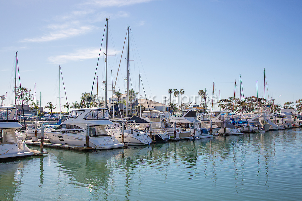 Boat Slips at the Dana Point Harbor