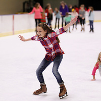 Thomas Wells | BUY at PHOTOS.DJOURNAL.COM<br /> Maleah Nickoles, 11, of Columbus tries to not to fall