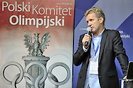 Andrzej Piatek (Sport's Director of Polish Cycling Association) during conference of olympic trainers and coaches at COS (Centralny Osrodek Sportowy) in Spala on May 14, 2014.<br /> <br /> Poland, Spala, May 14, 2014<br /> <br /> Picture also available in RAW (NEF) or TIFF format on special request.<br /> <br /> For editorial use only. Any commercial or promotional use requires permission.<br /> <br /> Mandatory credit:<br /> Photo by © Adam Nurkiewicz / Mediasport