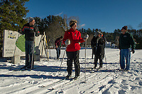 First week of cross country lessons at Bolduc Park in Gilford, NH January 5, 2013.