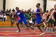 The Hampton Pirates competed in the Father Diamond Invitational Indoor Track Meet at George Mason FIeld House in Fairfax, Virginia.  January 05, 2013  (Photo by Mark W. Sutton)