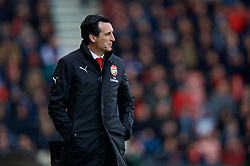 BOURNEMOUTH, ENGLAND - Sunday, November 25, 2018: Arsenal's manager Unai Emery during the FA Premier League match between AFC Bournemouth and Arsenal FC at the Vitality Stadium. (Pic by David Rawcliffe/Propaganda)