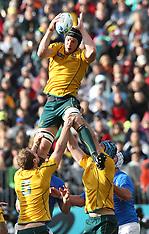 Auckland-Rugby, RWC, Australia v Italy