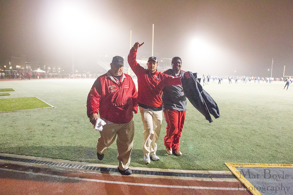 during the NJISAA Group 3 South Jersey Championship between Delsea Regional High School and Northern Burlington High School at Rowan University in Glassboro, NJ on Saturday December 8, 2012. (photo / Mat Boyle)