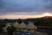 View from the hotel in Arba Minch, Ethiopia.