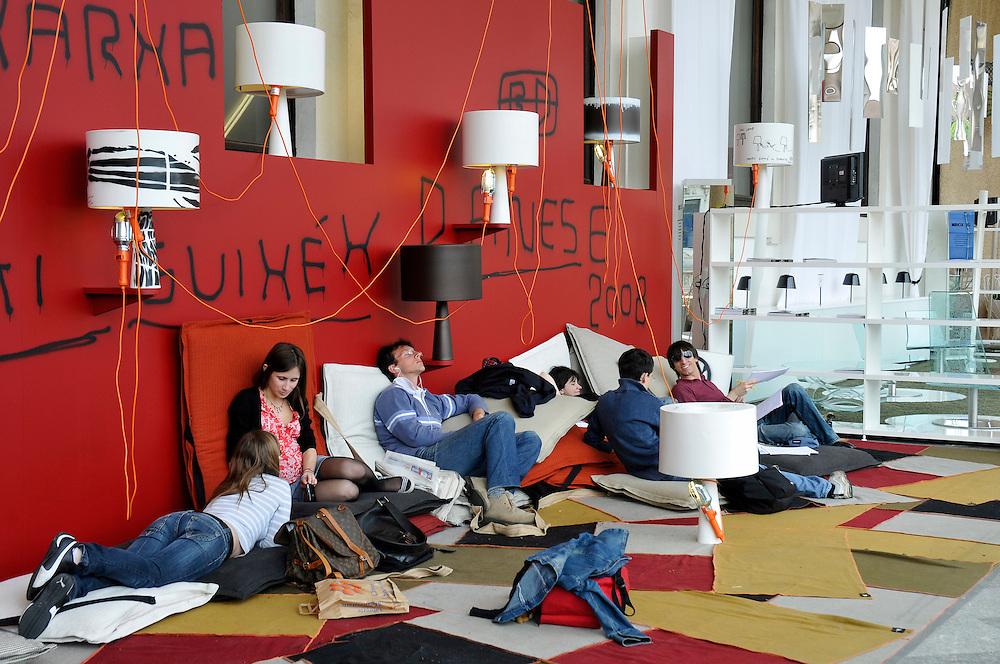 Università Statale di Milano durante il Salone del Mobile