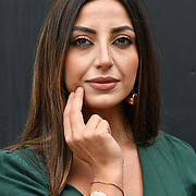 Isabella Fancello wearing Jennifer Lopez Watch attend London Fashion Week Festival at 180 Strand, London, UK. 21 September 2018.