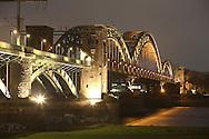 DEU, Germany, Cologne, the Suedbruecke, railroad bridge across the river Rhine.....DEU, Deutschland, Koeln, die Suedbruecke, Eisenbahnbruecke ueber den Rhein.....