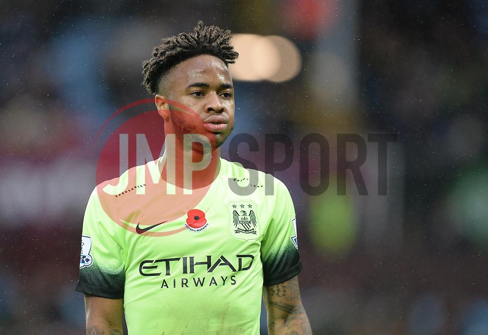 Raheem Sterling of Manchester City- Mandatory byline: Alex James/JMP - 07966 386802 - 08/11/2015 - FOOTBALL - Villa Park - Birmingham, England - Aston Villa v Manchester City - Barclays Premier League