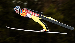 18.12.2015, Nordische Arena, Ramsau, AUT, FIS Weltcup Nordische Kombination, Skisprung, PCR, im Bild Bryan Fletcher (USA) // Bryan Fletcher of the USA during Skijumping PCR of FIS Nordic Combined World Cup, at the Nordic Arena in Ramsau, Austria on 2015/12/18. EXPA Pictures © 2015, PhotoCredit: EXPA/ JFK