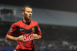 Ryan Giggs of Manchester United. Portsmouth v Manchester United (1-4), Barclays Premier League Fratton Park, Portsmouth, 28th November 2009.