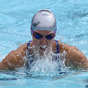 Swimmer Tessa Hayman (18) competes in the 100 meter individual medley during the Summer Swim league championships finials Saturday, July. 17, 2015 at Western YMCA in Wilmington, DEL