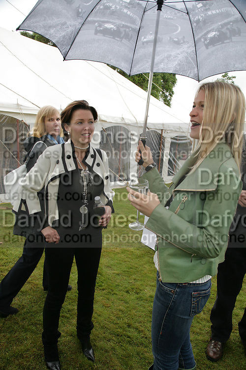 DANNI MINOGUE AND LADY ALEXANDRA GORDON-LENNOX,, Cartier Style et Luxe lunch. Goodwood.  24 June 2007.  -DO NOT ARCHIVE-© Copyright Photograph by Dafydd Jones. 248 Clapham Rd. London SW9 0PZ. Tel 0207 820 0771. www.dafjones.com.