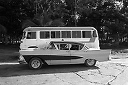 Cuba Cars and Transport in BW