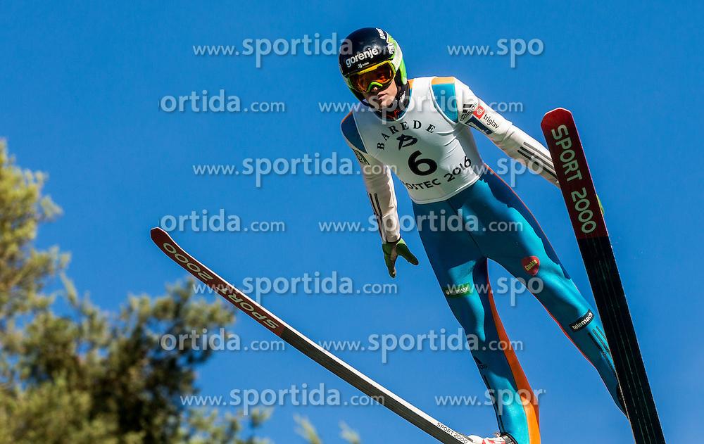 Matjaž Pungertar (SLO) during Ski jumping Summer cup - 45. Revija skokov Mostec on June 4, 2016 in Mostec hill, Ljubljana, Slovenia.Photo by Vid Ponikvar / Sportida