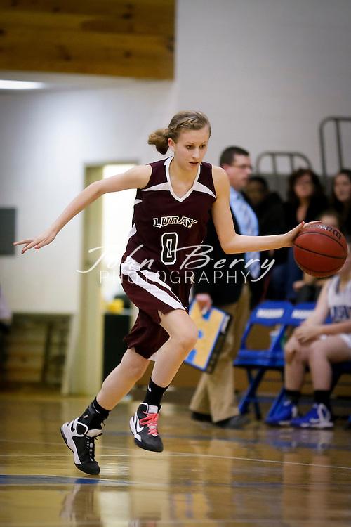 January 13, 2014:   MCHS JV Girls Basketball vs Luray.  Madison loses to Luray 43-20.