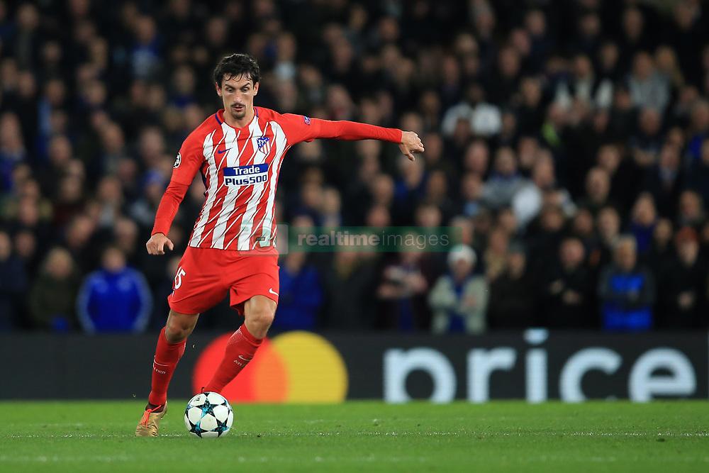 5 December 2017 -  UEFA Champions League (Group C) - Chelsea v Atletico Madrid - Stefan Savic of Atletico Madrid - Photo: Marc Atkins/Offside