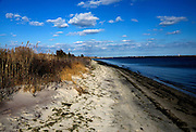 Captree Beach with a View of the Fire Island Lighthouse in the Distance - Long Island, NY