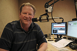 Aug. 16, 2011 - Eden Prairie, Mn, USA - Radio talk show host Ed Schultz sits in the studio of KTNF 950 radio in Eden Prairie, Minnesota, August 16, 2011. (Credit Image: © Richard Sennott/Minneapolis Star Tribune/TNS/ZUMAPRESS.com)
