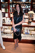 Sharlely Becker, The 2010 Ralph Lauren Wimbledon Party hosted by Elizabeth Saltzman in support of Too Many Women in celebration of the renewal of the Ralph Lauren Wimbledon partnership. Ralph Lauren shop. No.1 New Bond Street, London W1. 20 June 2010. <br />  <br /> -DO NOT ARCHIVE-© Copyright Photograph by Dafydd Jones. 248 Clapham Rd. London SW9 0PZ. Tel 0207 820 0771. www.dafjones.com.