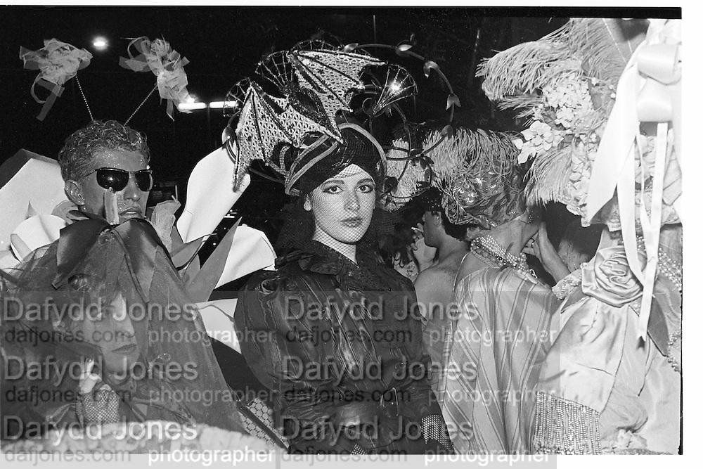 Nigella Lawson, Piers Gaveston Ball, Park Lane Hotel 13.05.83© Copyright Photograph by Dafydd Jones 66 Stockwell Park Rd. London SW9 0DA Tel 020 7733 0108 www.dafjones.com