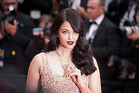 Aishwarya Rai at the gala screening for the film The BFG at the 69th Cannes Film Festival, Saturday 14th May 2016, Cannes, France. Photography: Doreen Kennedy