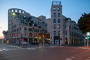 Jaffa, Jerusalem Boulevard at dawn