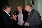 HENRY PORTER; LORD RAZZALL; GENERAL SIR MICHAEL JACKSON, Vanity Fair, Baroness Helena Kennedy QC and Henry Porter launch ' The Convention on Modern Liberty'. The Foreign Press Association. Carlton House Terrace. London. 15 January 2009 *** Local Caption *** -DO NOT ARCHIVE-© Copyright Photograph by Dafydd Jones. 248 Clapham Rd. London SW9 0PZ. Tel 0207 820 0771. www.dafjones.com.<br /> HENRY PORTER; LORD RAZZALL; GENERAL SIR MICHAEL JACKSON, Vanity Fair, Baroness Helena Kennedy QC and Henry Porter launch ' The Convention on Modern Liberty'. The Foreign Press Association. Carlton House Terrace. London. 15 January 2009