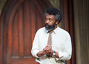 Educating Rita <br /> by Willy Russell<br /> at the Minerva Theatre, Chichester, Great Britain <br /> press photocall <br /> 22 June 2015 <br /> Lenny Henry as Frank <br /> <br /> Director: Michael Buffong<br /> Photograph by Elliott Franks <br />  <br /> Image licensed to Elliott Franks Photography Services