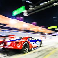 #66, Ford Chip Ganassi Team UK, Ford GT, driven by: Stefan Mucke, Olivier Pla, WEC BAPCO 6 Hours of Bahrain, 18/11/2017,