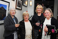 Pictured at the official opening of the Rolling Sun festival at the Clew Bay Hotel were Shirley Piggins, Mary McCoombes, Lucy and Anne Bracken...Pic Conor McKeown