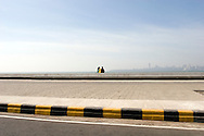Couple at Marine Drive, Bombay (Mumbai), India
