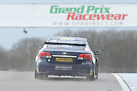 #21 Glynn Geddie (GBR) - United Autosports Toyota Avensis. 2014 BTCC Media Day. Donington Park, Derby, United Kingdom. 18th March 2014. World Copyright: Peter Taylor/PSP. Copy of publication required for printed pictures. Every used picture is fee-liable.