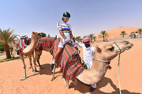 SAGAN Peter (SVK) with Road World Champion jersey during the 1th Abu Dhabi Tour 2015, Stage 1, Qasr Al Sarab - Madinat Zayed (174Km) on October 8, 2015 in Abu Dhabi. Photo Tim De Waele / DPPI