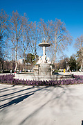Fountain, Retiro Park, Madrid, Spain